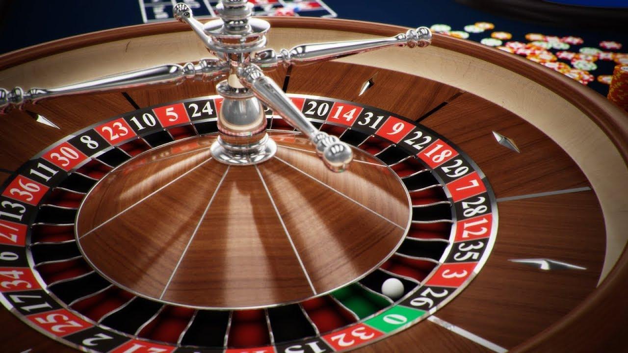 casino roulette render